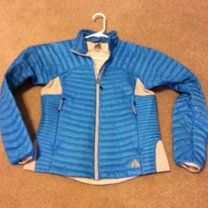 Eddie Bauer Blue Goose Down Jacket, Sz PS